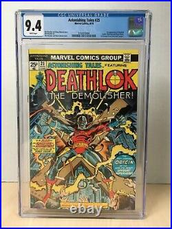 Astonishing Tales #25 (1974) CGC 9.4 White Pages 1st Appearance Deathlok