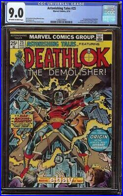 Astonishing Tales # 25 CGC 9.0 OWithW (Marvel, 1974) 1st appearance of Deathlok
