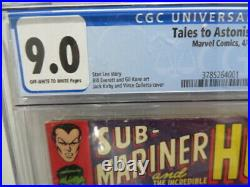 Cgc 9.0 Tales To Astonish #90 1st Appearance Abomination And Byrrah Sub-mariner