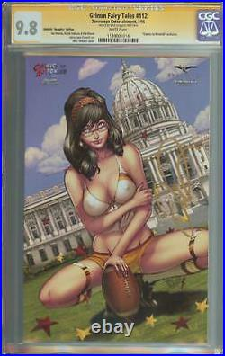 Grimm Fairy Tales #112 Ss Cgc 9.8 Comics To Astonish Naughty Variant Redskins
