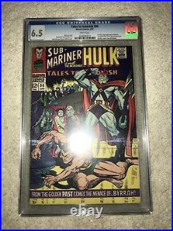 Marvel TALES TO ASTONISH 90 1st ABOMINATION Shang Chi MCU CGC 6.5 White Pages