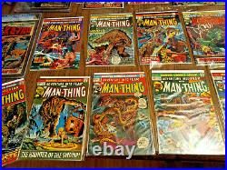 Savage Tales 1 1971 Cgc 4 1st Appearance Man-thing Astonishing 12 13 Fear 10-19