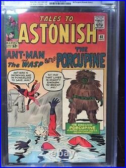 TALES TO ASTONISH #48 CGC VF+ 8.5 OW 1st Porcupine