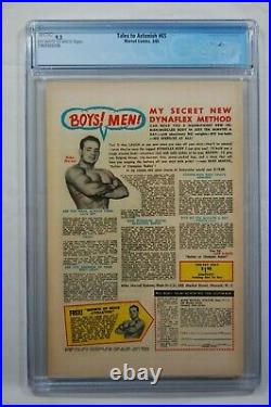 TALES TO ASTONISH #65 CGC 9.2 OWithW PAGES MARVEL COMICS 3/65