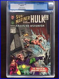 TALES TO ASTONISH #86 CGC NM 9.4 OW-W Sub-Mariner cover