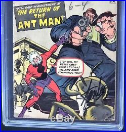 TALES to ASTONISH #35 SIGNED by STAN LEE CGC 3.0 SS 1ST ANT MAN in COSTUME