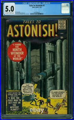 Tales To Astonish 1 Cgc 5.0 Owp Classic Issue Not 13 Groot Hulk