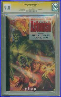 Tales To Astonish #1 Cgc 9.8 Signature Series Signed Stan Lee Ant-man Wasp Movie