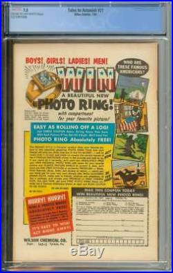 Tales To Astonish #21 Cgc 7.5 Cr/ow Pages