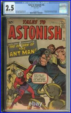 Tales To Astonish #35 CGC 2.5 2nd App Ant-Man 1st in Costume