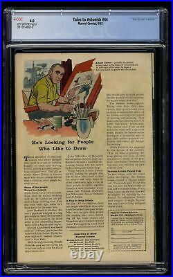 Tales To Astonish #44 CGC VG 4.0 Off White 1st Wasp
