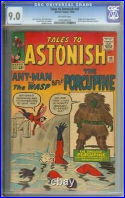 Tales To Astonish #48 Cgc 9.0 Ow Pages