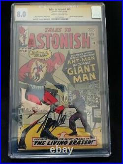 Tales To Astonish #49 1st App Giant Man Signed Stan Lee CGC SS 8.0 1322586005