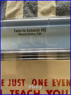 Tales To Astonish 52 CGC 5.5 First Appearance Of The Black Knight