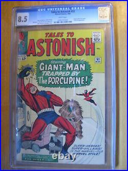 Tales To Astonish #53, Cgc 8.5 Vf+ With White Pages. Like Halo, Pgx, Cbcs. 1964