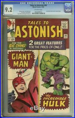 Tales To Astonish #60 Cgc 9.2 Ow Pages
