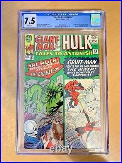 Tales To Astonish #62 (cgc 7.5) Key 1st Appearance Of The Leader (she-hulk Tv)