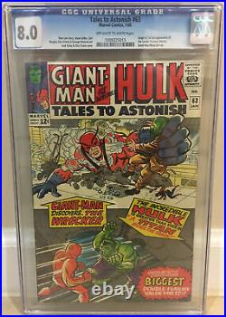 Tales To Astonish #63 Cgc 8.0 1st Full Appearance & Origin Of The Leader