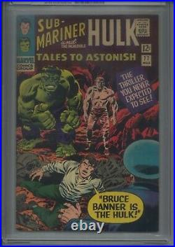 Tales To Astonish #77 CGC 8.5 Bruce Banner Is the Hulk! KEY ISSUE