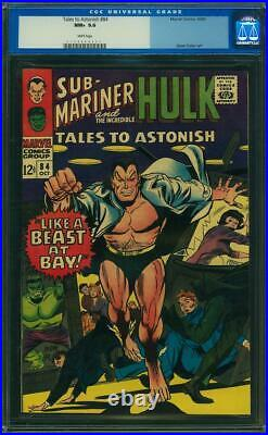 Tales To Astonish #84 Cgc 9.6 White Pages 2nd Highest Graded! Cgc #104098007