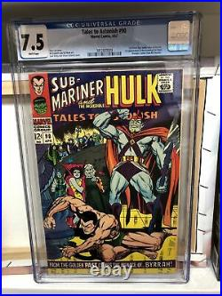 Tales To Astonish #90 (Marvel 1967) CGC 7.5 WP 1st Abomination Shang-Chi MCU