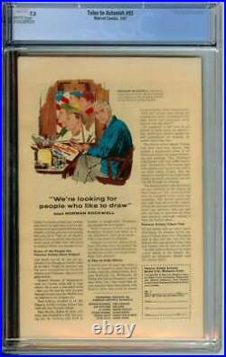Tales To Astonish #93 Cgc 7.5 White Pages // 1st Full Surfer App Outside Ff 1967