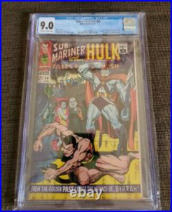 Tales To Astonish Issue 90 Cgc 9.0 Off-white To White Pages First Abomination