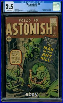 Tales to Astonish #27 1961 Certified 2.5 1st APPEARANCE ANTMAN