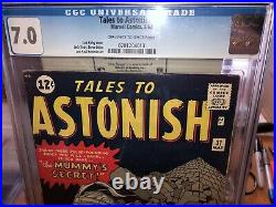 Tales to Astonish 31 cgc 7.0 Tuff to find in High Grade n Graded