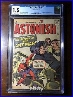 Tales to Astonish #35 (1962)- 1st Ant-Man in Costume! CGC 1.5! Major Key
