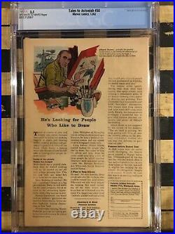 Tales to Astonish #38 CGC 3.5 (OW-W) 1st Appearance of Egghead