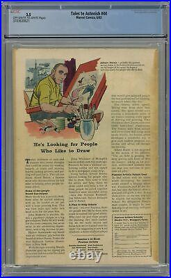 Tales to Astonish #44 CGC 3.5 1963 3703630021 1st app. And origin Wasp