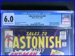 Tales to Astonish 44 CGC 6.0 1st appearance of the WASP! Super Key comic