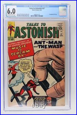 Tales to Astonish #47 Marvel 1963 CGC 6.0 1st Appearance of Trago