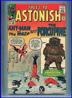 Tales to Astonish #48 (1st Porcupine) CGC 4.5 OWP