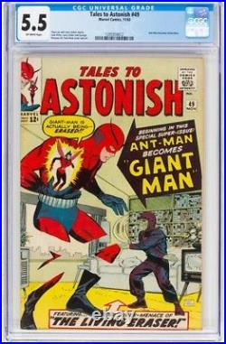 Tales to Astonish #49 (Marvel, 1963) CGC FN- 5.5 Off-white pages