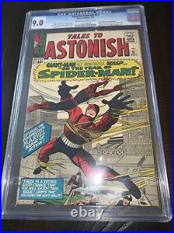 Tales to Astonish 57 cgc 9.0 early Spider-man cross over 1964