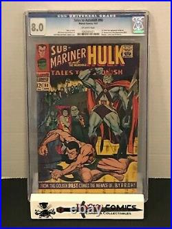 Tales to Astonish # 90 CGC 8.0 1st App of the Abomination Shang-Chi Movie MCU