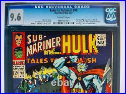 Tales to Astonish 90 CGC 9.6 1st Abomination Shang-Chi/She-Hulk INVESTMENT