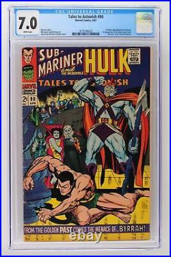 Tales to Astonish #90 Marvel 1967 CGC 7.0 1st Silver Age Appearance of Byrrah