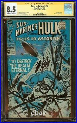 Tales to Astonish #98 CGC 8.5 Signed Stan Lee Sub-Mariner Cover 1967
